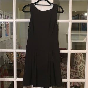 White House Black Market Dropped Waist LBD Dress